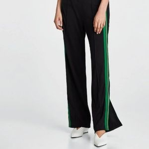 Zara Woman Side Stripe Trouser Track Pants